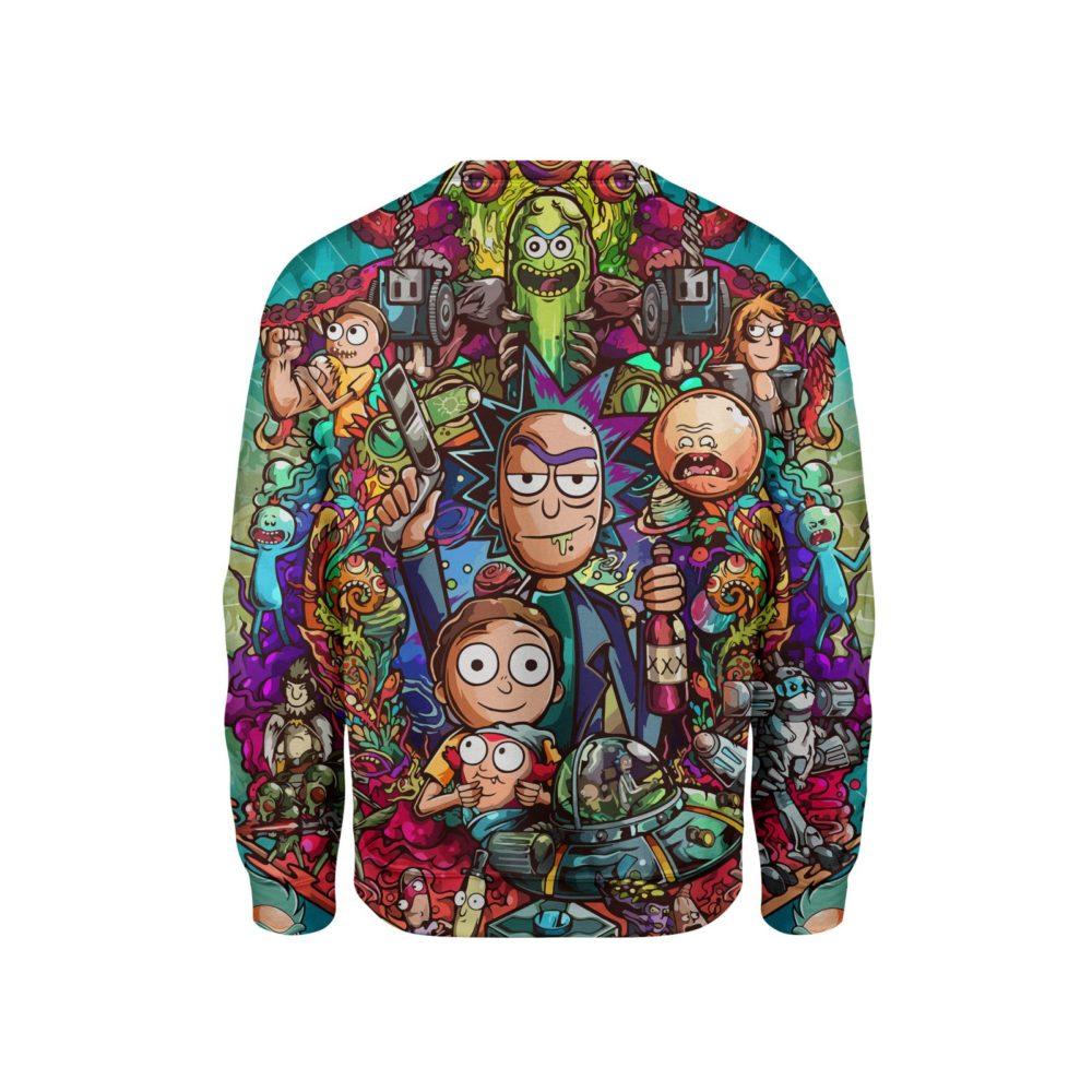 Rick and Morty All Sweatshirt  cf5ed2c3e